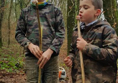 Travaux forêt janvier 2020